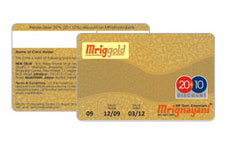 Gold & Silver Cards Manufacturers