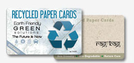 Recycled Paper card