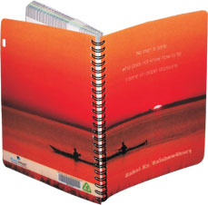Printed  Name Notebooks India